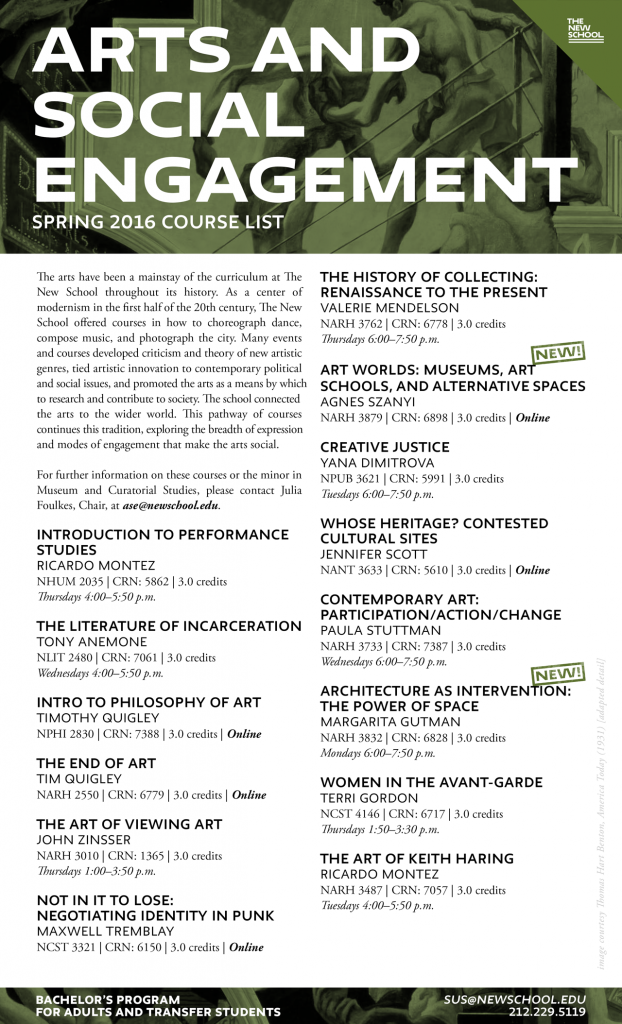 Spring 2016 Course List