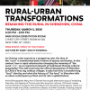 Rural-Urban Transformations - Flyer