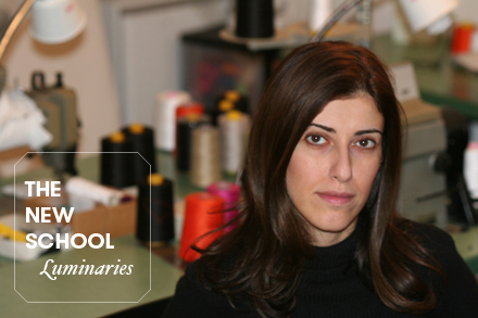 Behnaz Sarafpour, winner of the Cooper-Hewitt National Design Award for fashion. Photo by Behnaz Sarafpour.