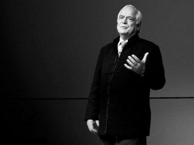 Peter Eigen, founder of Transparency International, gave the keynote address during the 30th Social Research Conference on Corruption, Accountability, and Transparency. Photo by TEDxBerlin/ Sebastian Gabsch.