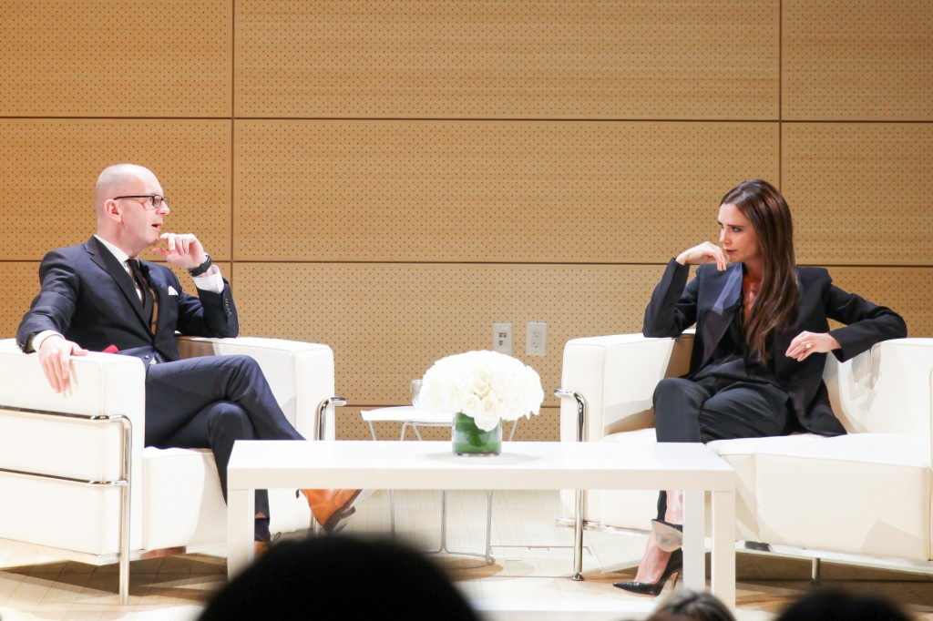 VICTORIA BECKHAM in Conversation with SIMON COLLINS, PARSONS THE NEW SCHOOL FOR DESIGN