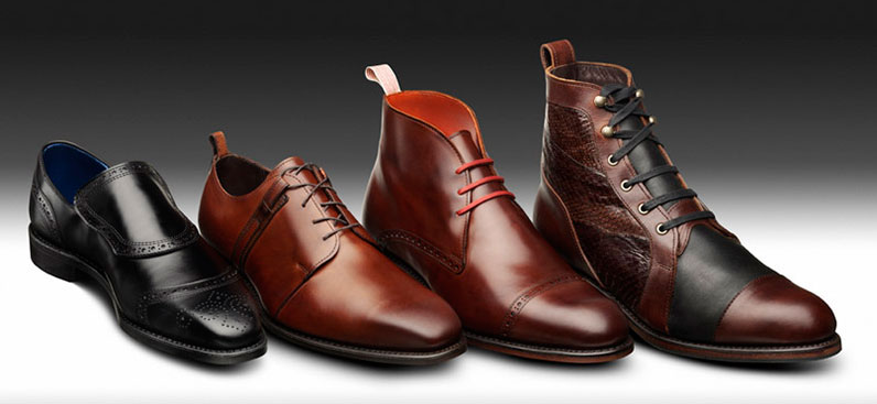 Shoes designed by Parsons students in cooperation with Allen Edmonds.