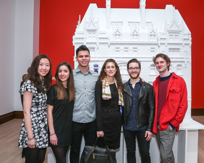Other Primary Structures team: Yunong Zhang (MFA Lighting Design '15); Julia Grunberg (MFA Interior Design '16); Ariel Gonzalez Millan (M.Arch '16); Aurelie Paradiso; Brandon Pietras (M.Arch/ MFA Lighting Design '17); and Sean Jones (BFA Architectural Design '16)