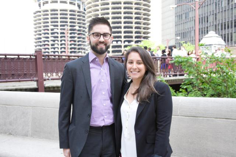 Milano graduates Zachary Koser and Lisabeth Tremblay were chosen for the highly selective Environmental Defense Fund Climate Corps.
