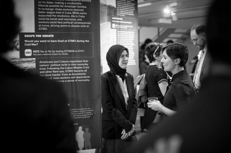 Guantánamo Public Memory Project Traveling Exhibition. Photo Courtesy Pinar Gedikozer Photography.