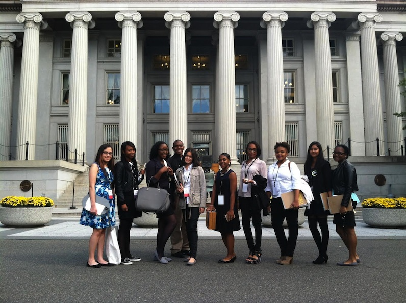 Participants in the Parsons Scholars Program attended First Lady Michelle Obama's recent Fashion Education Workshop at The White House.