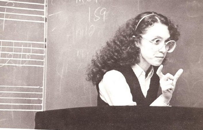 Stefania de Kenessey joined the faculty at Eugene Lang College in 1985, 13 years after she came to the school as a student in its Freshman Year Program. Today, De Kenessey is still a faculty member at Lang, where she teaches music composition.