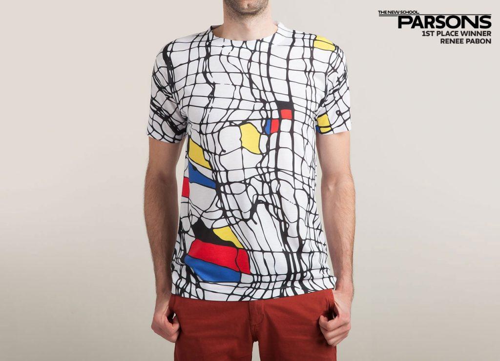 """""""Drunk Mondrian"""", by artist Renee Pabon"""