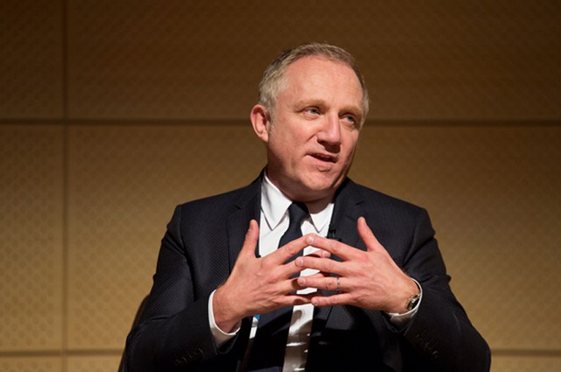 Kering Chairman and CEO François-Henri Pinault. Photo Courtesy of Kering.