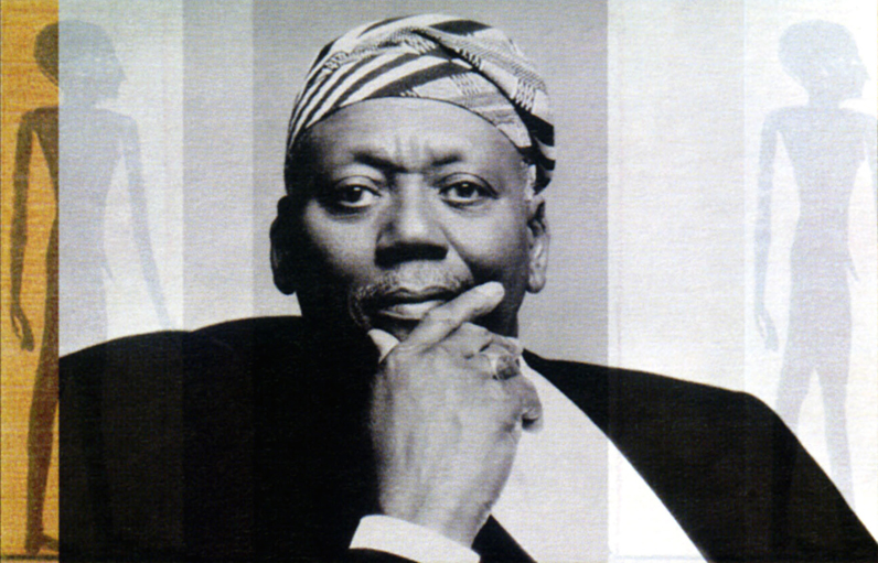 Jazz legend and New School artist-in-residence Randy Weston. Photo by Carol Friedman.