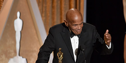 Harry Belafonte Receives Jean Hersholt Humanitarian Award