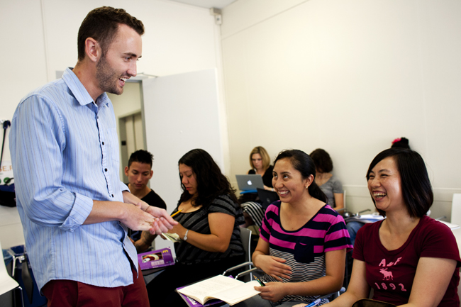 Summer ESL Classes taught by MATESOL students Anders Christensen