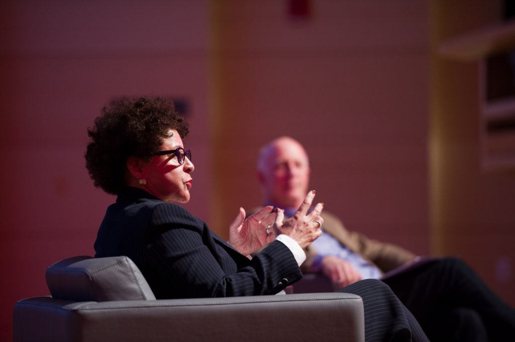 Sheila Johnson Inspires at Parsons Reunion