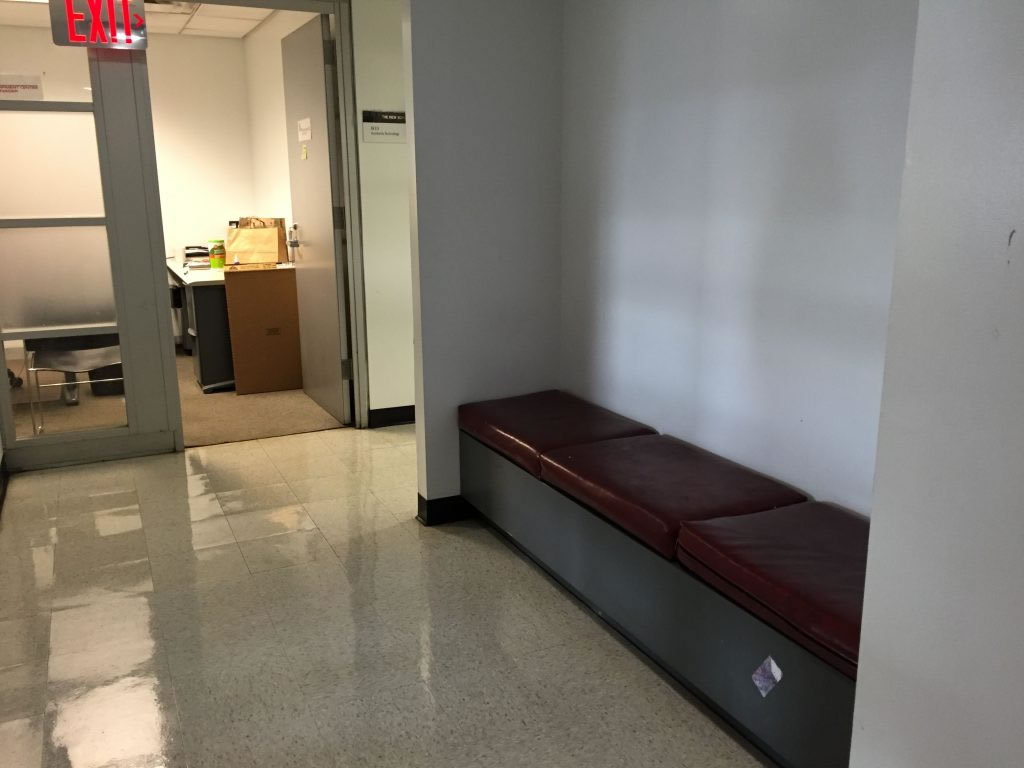 Ninth Floor Nap Spot, Arnhold Hall, 55 West 13th Street