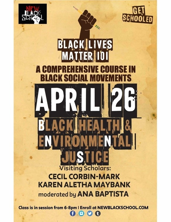 Slow Death: Black Health and Environmental Justice