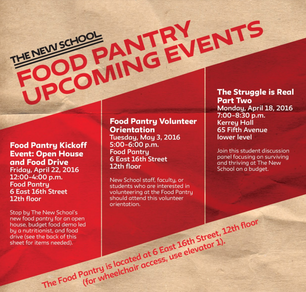 Food Pantry Kickoff Event: Open House and Food Drive