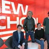 Picrtured, from left: David Kidd, Emanuele Castano, Catherine Richardson, and Martino Ongis