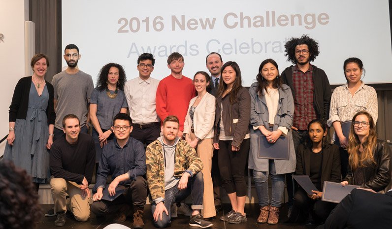 2016 New Challenge Fellows.