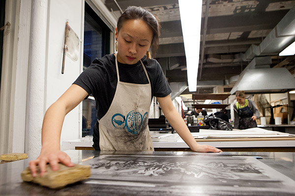 Printmaking Show and Print Shop