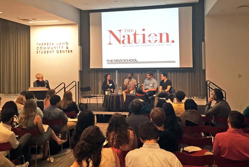 Katrina vanden Heuvel, Richard Kim, Ari Berman, and Mychal Denzel Smith were among <em></noscript>The Nation</em> editors and reporters who spoke to student journalists at The 2016 Nation Student Journalism Conference.