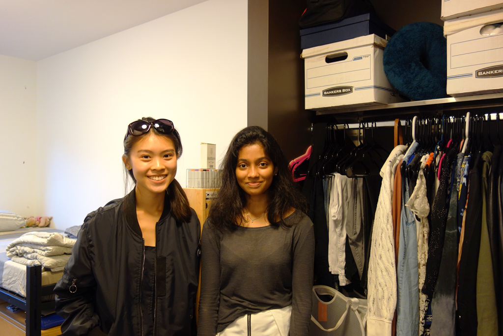 Annabelle Tok and Ritika Ramesh, Fashion Design '19