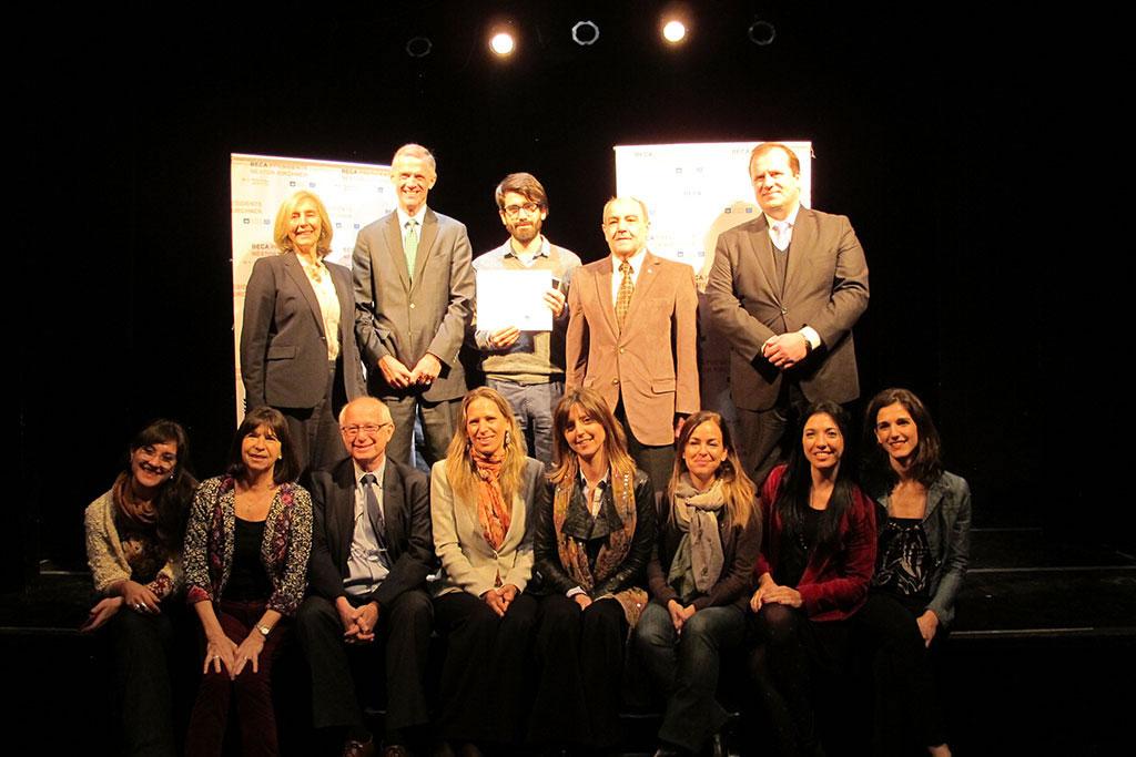 New School President David Van Zandt with organizers and Fellows of the President Néstor Kirchner Fellowship at Universidad Nacional de San Martín.