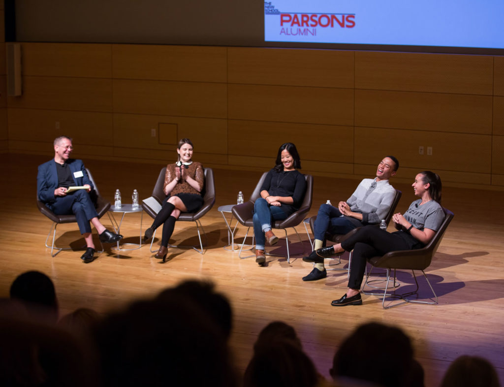 Socially engaged designers circled back to their alma mater for a discussion of their work at #ParsonsReunion.