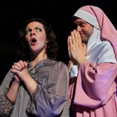 LoftOpera presented Rossini's Le Comte Ory at The Muse in Bushwick. (Photo/Robert Altman)