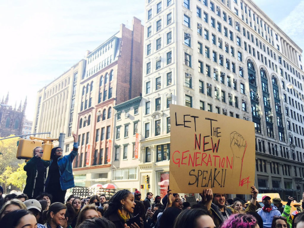 New School Students Organize and Dissent
