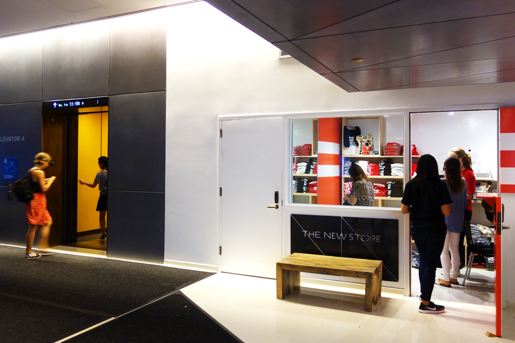 The New Store Opens at The New School