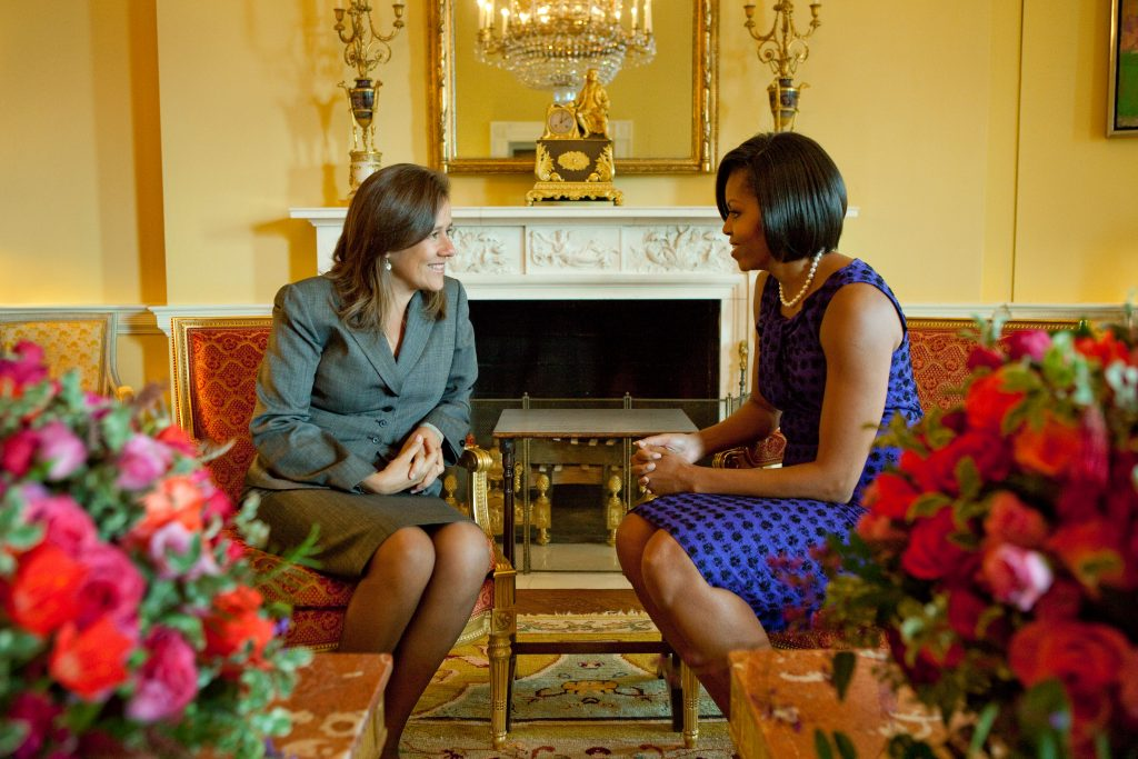 Meeting with Margarita Zavala de Calderon, First Lady of Mexico, February 25, 2010