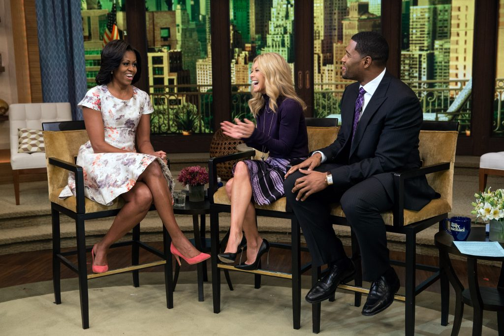 Live! with Kelly and Michael, October 17, 2012