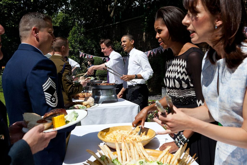 Barbecue at 10 Downing Street, May 25, 2011