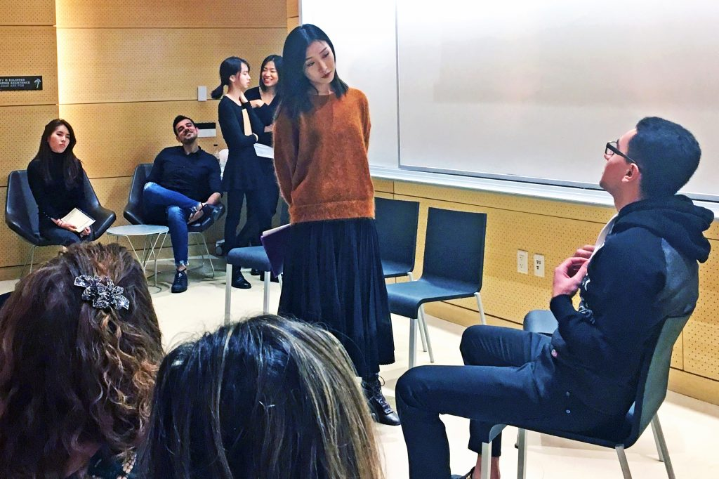 Students in English as a Second Language classes engage in project-based learning, which gives ESL students the opportunity to practice their English language skills in the creation of multimedia explorations of culture, social customs, and more