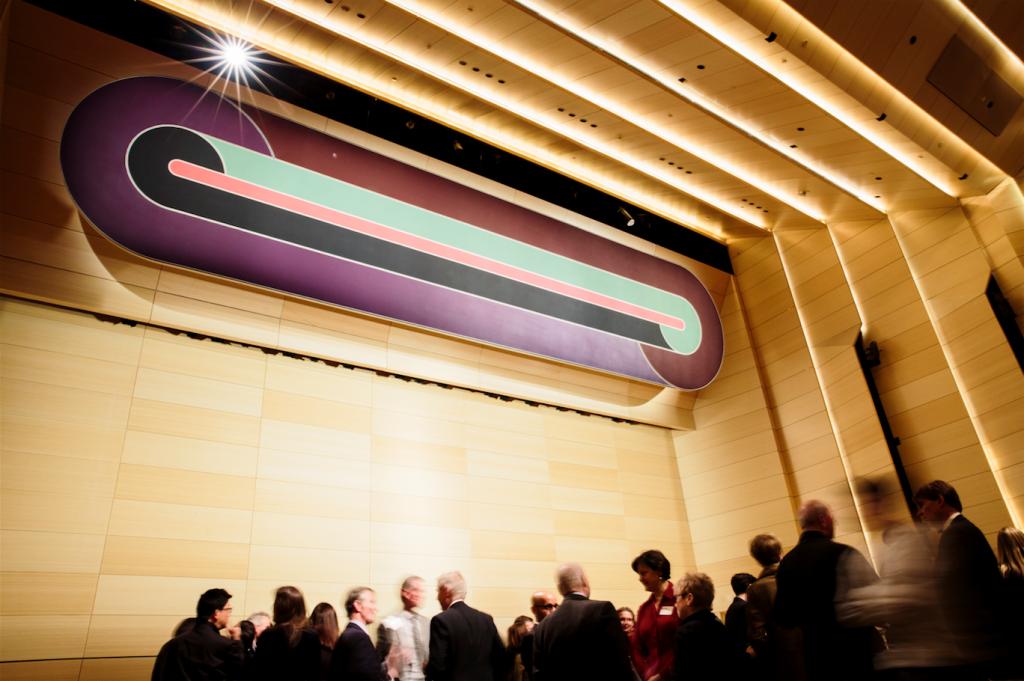 The New School Community Celebrates the Installation of Frank Stella's Deauville