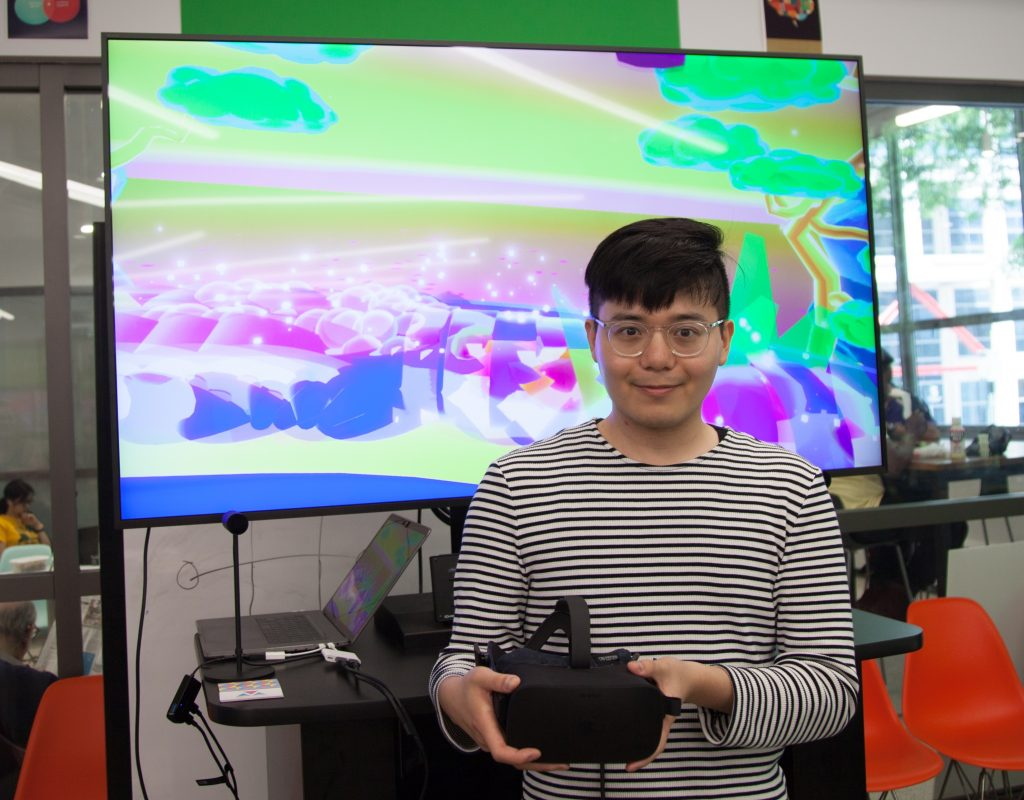 Mikei Huang, Design & MFA Technology '17, shares a VR experience he created as a student at The New School's Parsons School of Design.