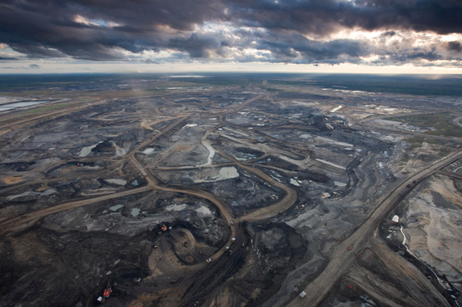 The Tar Sands in Fort McMurray, Alberta, Canada