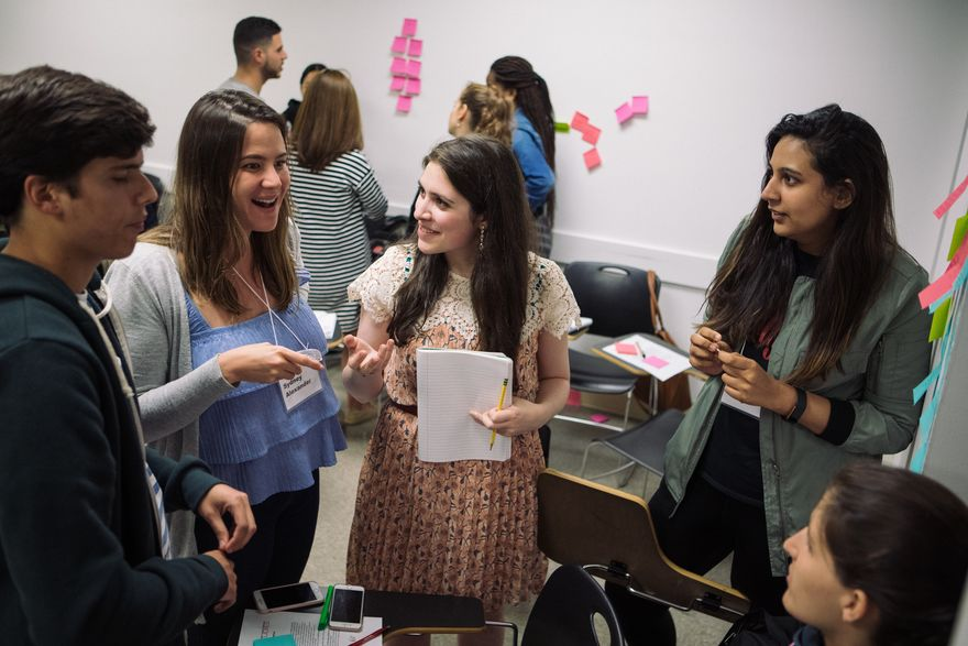 Now in its 20th year, the Media Management Graduate program is designed to prepare students for leadership roles in the media industry. (Photo/Matt Mathews)