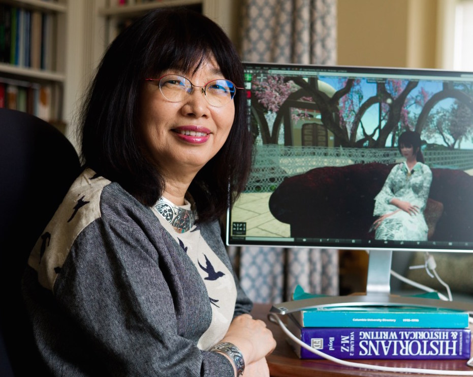 Eiko Ikegami, Walter A. Eberstadt Professor and professor of sociology at The New School for Social Research, visited the online virtual world of Second Life to research adults on the autism spectrum.
