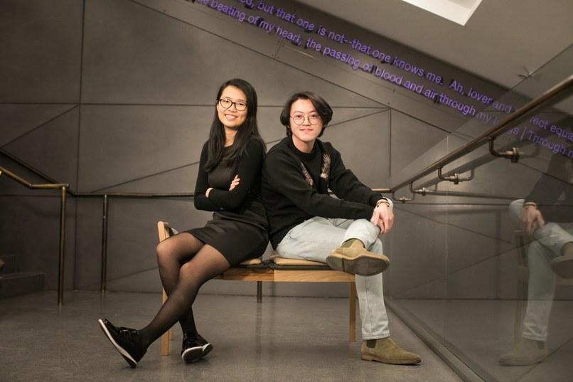 Lorraine Chen and Po Yuan Wang
