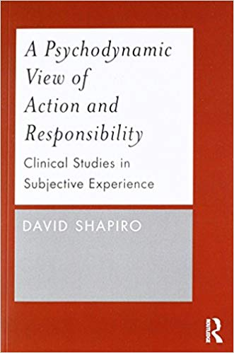 David Shapiro, Professor Emeritus of Psychology