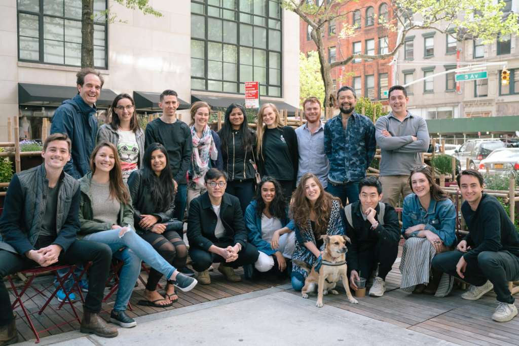 Faculty members and students from the School of Constructed Environments at Parsons School of Design earned a Notable mention in theDesign Education Initiativecategoryof the 2018 Core77 Design Awards forStreet Seats.
