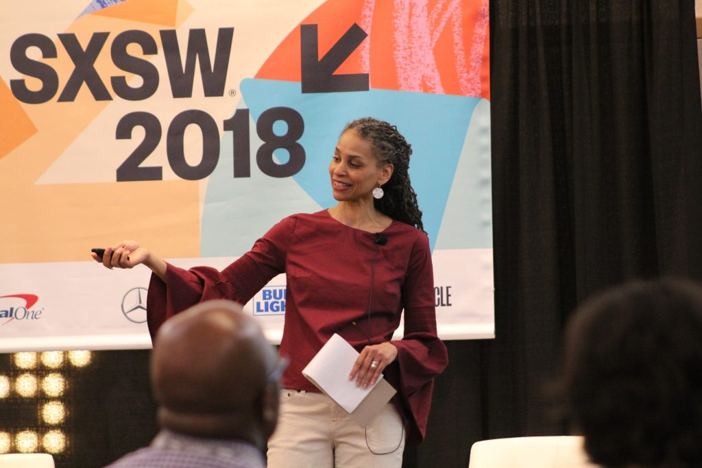 Maya Wiley, Senior Vice President for Social Justice at The New School and a nationally recognized digital equity advocate, shared her perspective at #SXSW.