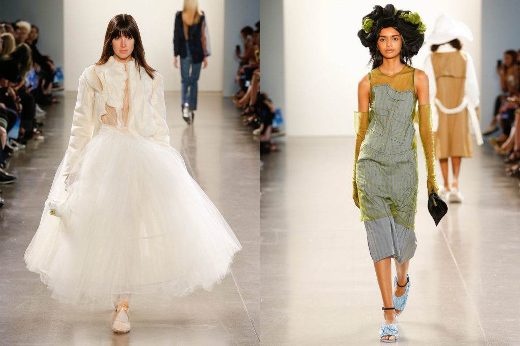 Parsons Mfa Fashion Design And Society Showcases Innovation At Nyfw Show New School News