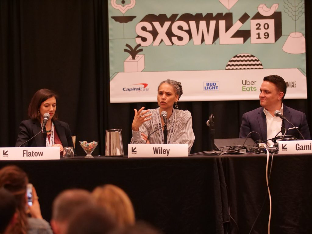 Maya Wiley spoke about the importance of cities collaborating in order to spur growth and innovation