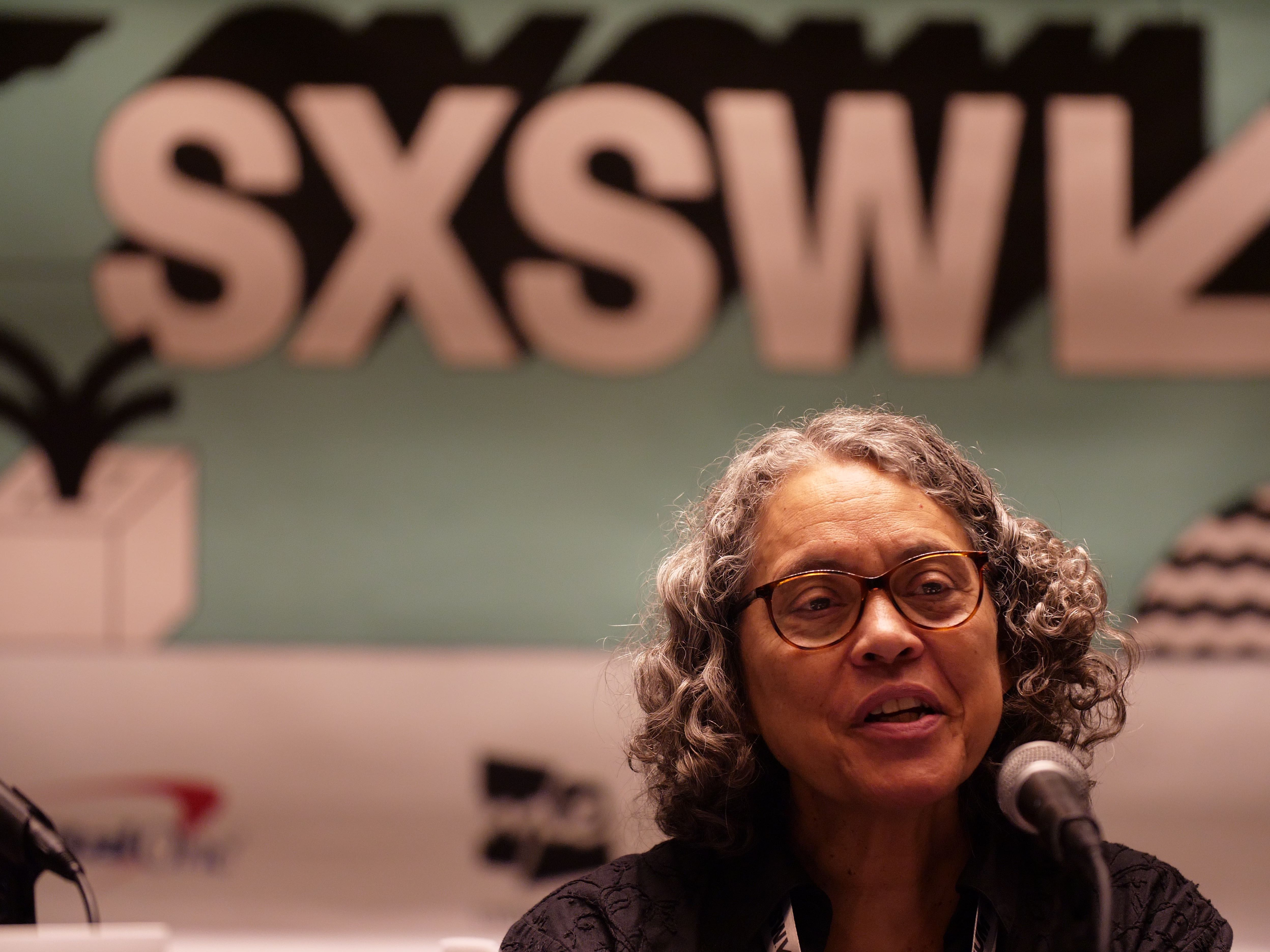 Mindy Fullilove speaking at #SXSW about 400 Years of Inequality