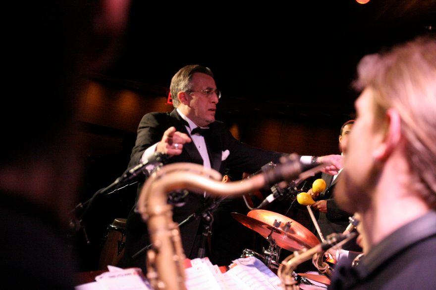 Bobby Sanabria conducts his Big Band