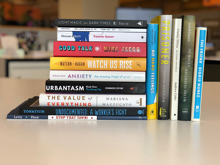 A sample of The New School Alumni written books published in 208-2019