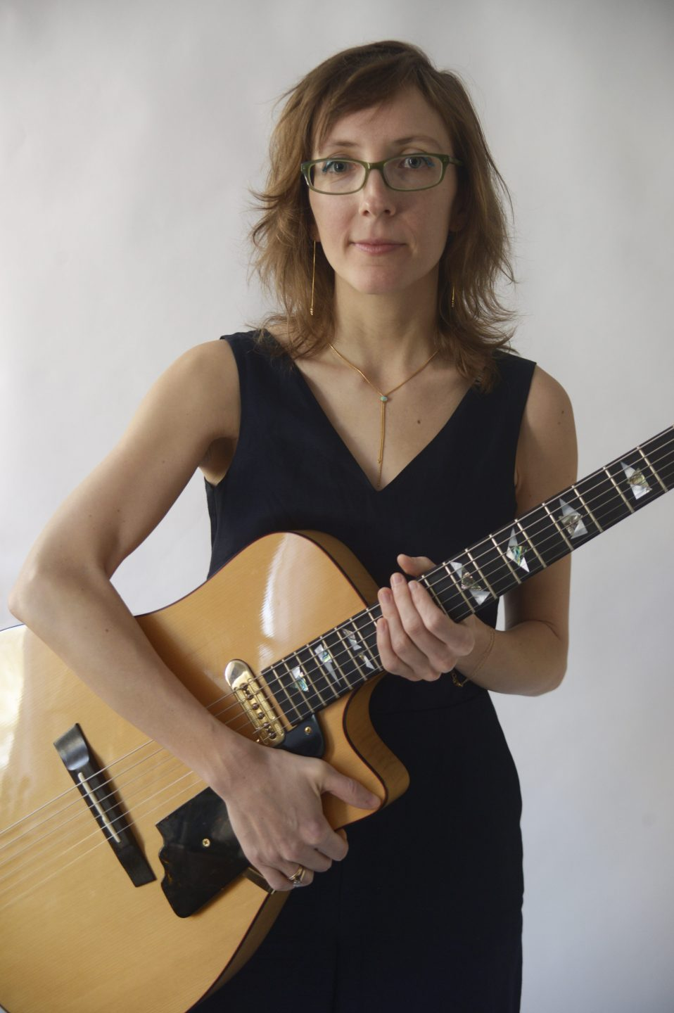 Mary Halvorson, photo by Amy Touchette