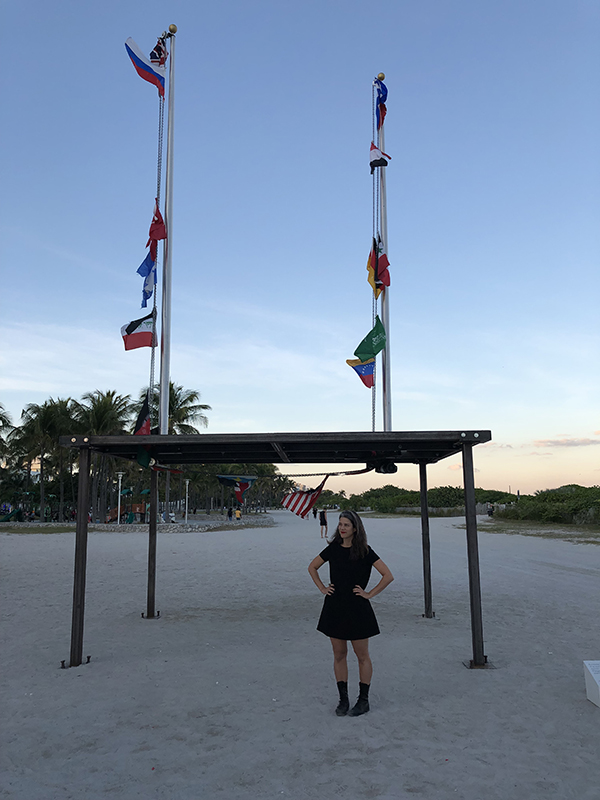 New School Alum Antonia Wright's Art Basel Miami 2019 Beach Installation, it is not down on any map; true places never are.
